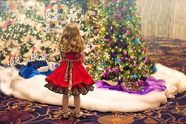 Sukienka na święta dla dziewczynki